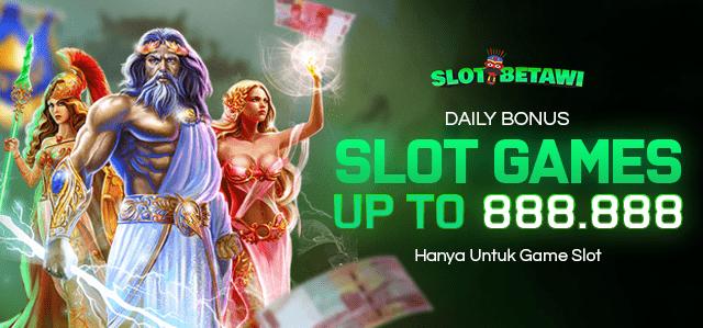 Daily Bonus Slot Max IDR 888.888